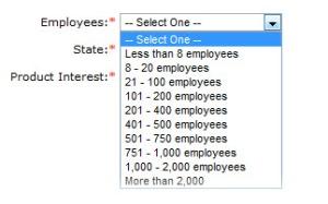 Predefined Field Values = Better Data